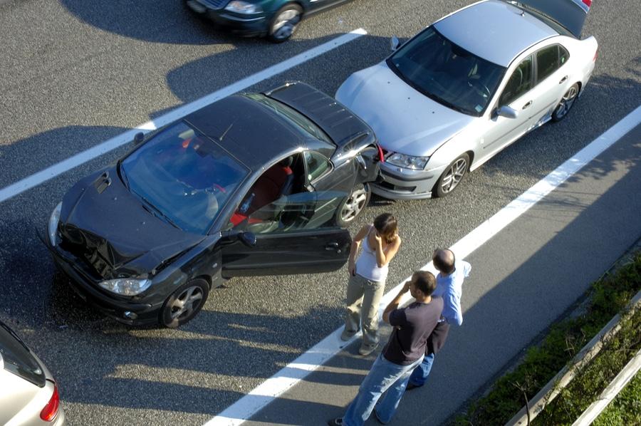 Hatten Sie einen Autounfall?