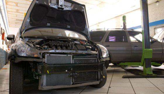 Gebrauchtwagenkaufvertrag - fachgerecht behobener Frontschaden – Mangel?