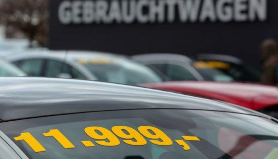 """Verkaufsanzeige Gebrauchtwagen - """"scheckheftgepflegt"""" ist Beschaffenheitszusicherung"""